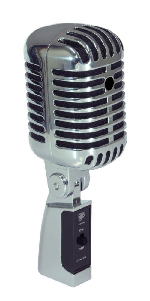 Njd Vintage Style Elvis Retro Microphone